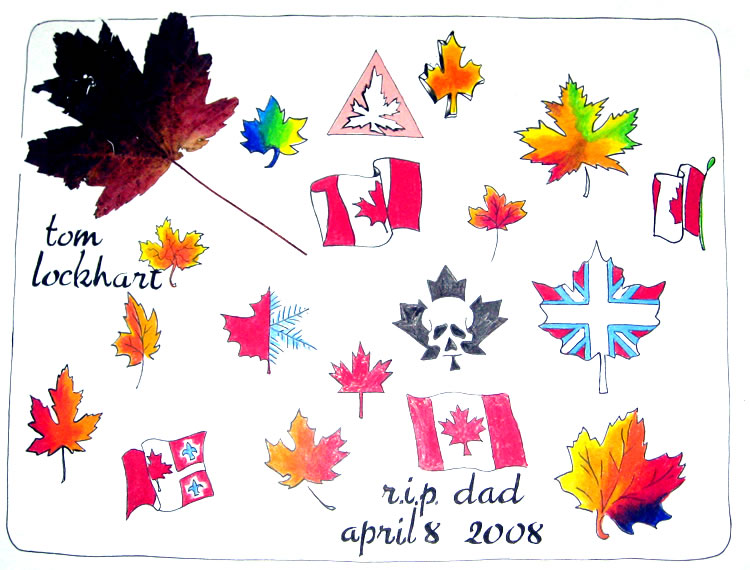 Lockhart's West Coast Tattoo - Olympic / Canadiana Tattoo Flash Gallery