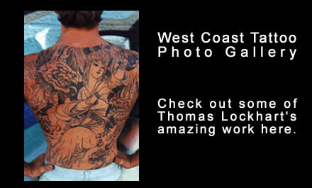 Lockhart intends to produce two hundred Olympic tattoo designs and will