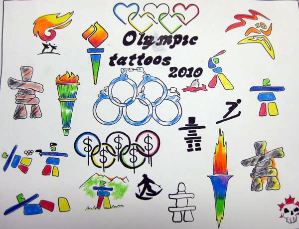  ... West Coast Tattoo - Olympic / Canadiana Tattoo Flash Gallery